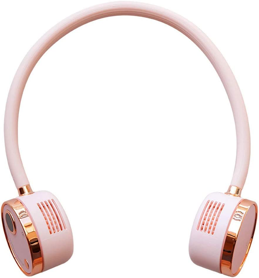 YEZININHAO Max 48% OFF neck fan Ranking TOP6 - Creative Nec Hanging Necklace Fan Portable