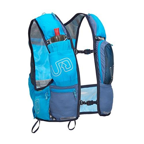 Ultimate Direction Aventura Chaleco V4 HOMBRE CORRER Hidratación Chaleco Azul - Azul, Medium