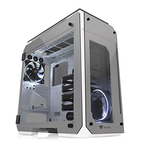 Thermaltake View 71 TG Tempered Glass Snow Edition PC-Gehäuse
