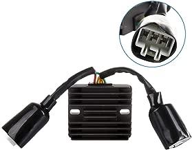 ECCPP Voltage Regulator Rectifier Fit for 2004 2005 2006 2007 Honda CBR1000RR 31600-MEL-013 31120-MEL-D22 Rectifier Regulator