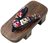 Obstáculos japoneses Geta Summer Slippers Sandals Cosplay Shoes Silla Sandalias orientales Zapatos Japoneses Tradicionales Zapatillas (Color: S8)-40 i_S8