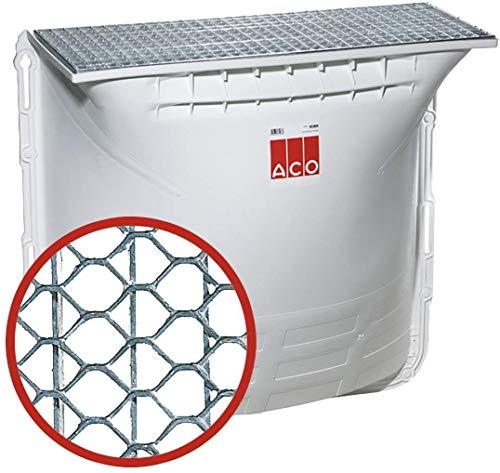 ACO Therm Lichtschacht 125x100x40 cm Komplett Set | ACO Nr.: 35904 | 1.) Streckmetall begehbar