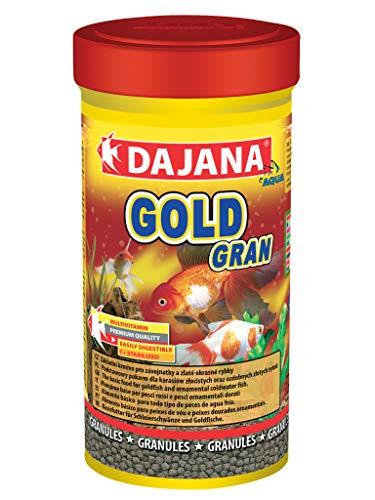 Dajana Gold Gran Aliment complet en granulés pour poissons queue de voile et poissons rouges
