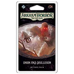 The fourth mythos Pack in the circle undone Cycle for Arkham Horror: The Card game Includes 74 new cards to expand your adventures in the Arkham Horror files universe Fast-paced gameplay throws you into the action of your investigation at the hauntin...
