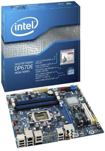 Intel Media Series DP67DEB3 Sockel 1155 Desktop Mainboard (Micro ATX, Intel P67, 4X DDR3 Speicher, 2X USB 3.0)