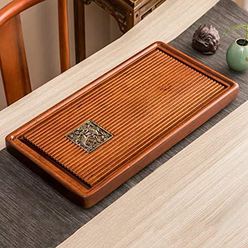Purchase Coffee& Tea Supplies Household Rosewood Rectangle Tea Tray Tea Table, Feel Just Like A Fish...