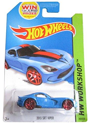 2014 Hot Wheels Blue 2013 SRT Viper 203/250 HW WORKSHOP HW Garage by Hot Wheels