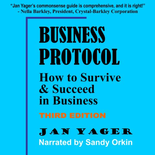 Business Protocol - 2nd edition audiobook cover art