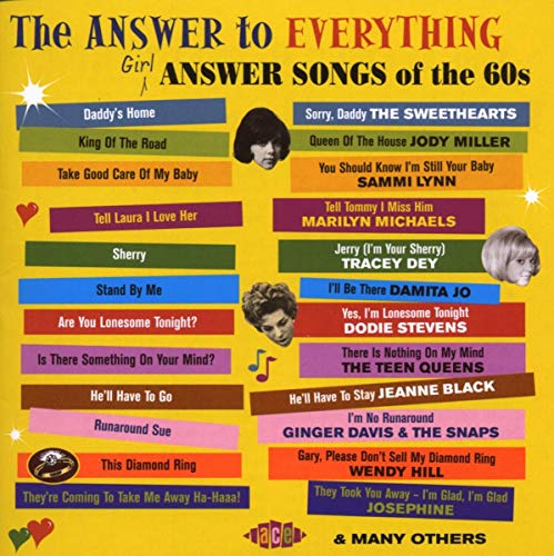 The Answer To Everything ~ Girl Answer Songs Of The 60's