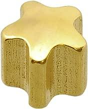 Caflon Blu 24 Carat Gold Plated Star Shape Mini Studs