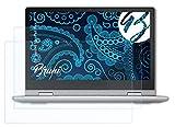 Bruni Schutzfolie kompatibel mit Lenovo IdeaPad Flex 3 Folie, glasklare Bildschirmschutzfolie (2X)