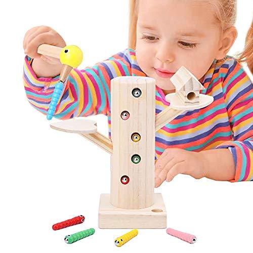 YGJT Motorikspielzeug 2 Jahre Jungen und Mädchen | Magnetische Kinderspielzeug ab 2 3 4 Jahren | Montessori Pädagogisches Lernspielzeug als Geschenk