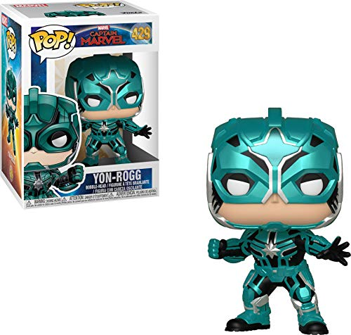 Funko 36352 Pop! Marvel: Captain MarvelStar Commander, Multicolor