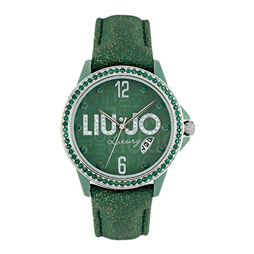 Liu-Jo Reloj Analógico para Mujer de Automático con Correa en Cuero TLJ229