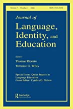 Queer Inquiry In Language Education Jlie V5#1 (Journal of Language, Identity, and Education)