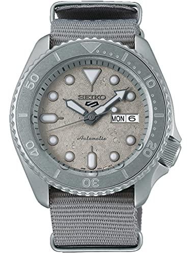 Seiko Reloj Análogo para Hombre de Automático con Correa en Nailon SRPG61K1