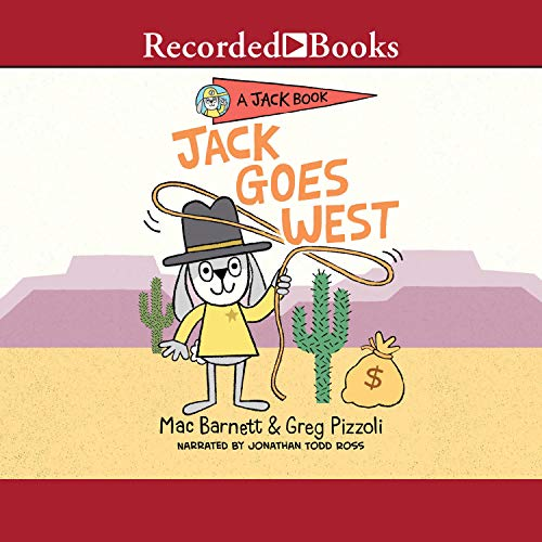 Jack Goes West audiobook cover art