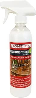 Stone Pro Finishing Touch Ultra - Granite Countertop Revitalizer - 16 oz. Spray