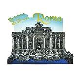 Kesheng Imán para Nevera Trevi, diseño de Roma Italia, Trevi Fountain