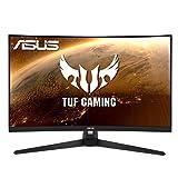 ASUS TUF Gaming VG32VQ1BR - Monitor (WQHD, VA, 165Hz, Extreme Low Motion Blur, FreeSync Premium, HDR10, DisplayPort, HDMI, 1 ms)