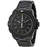 Victorinox Swiss Army Alpnach Mechanical Automatic Black Dial Black Ion-plated Mens Watch 241684
