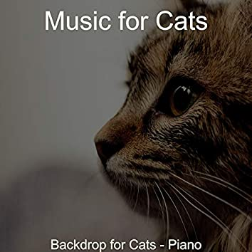 Backdrop for Cats - Piano