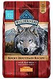 Blue Buffalo Wilderness Rocky Mountain Recipe High Protein Grain Free,...