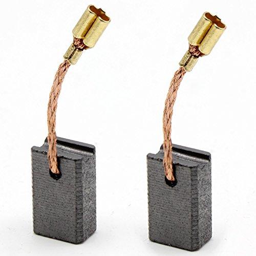 Kohlebürsten Kohlen für Winkelschleifer FLEX L 1000 / L 10-10 125 ersetzt Org. 387479 6,3x10x15mm