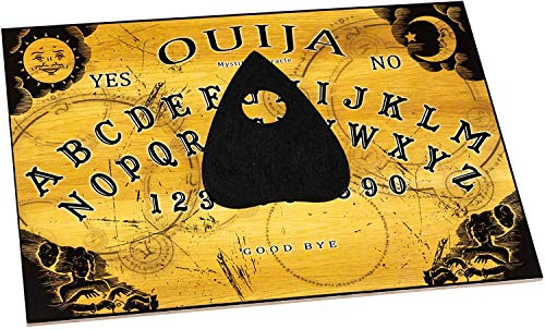 WICCSTAR Classic Ouija Board Game with Planchette and Detailed Instruction (in English)