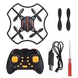 nobrand Camera F19 4CH 2.4G Mini Drone 0.3MP 720 * 576 Telecomando Quadcopter App Intelligente Voice (Arancione)