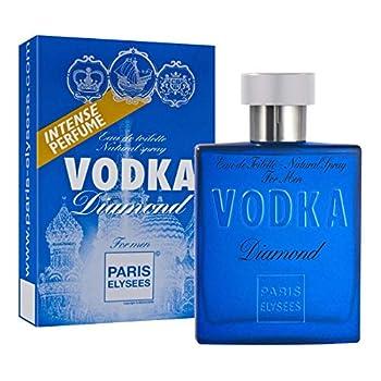 Vodka Diamond Perfume for Men 3.3 fl oz Eau de Toilette Paris Elysees