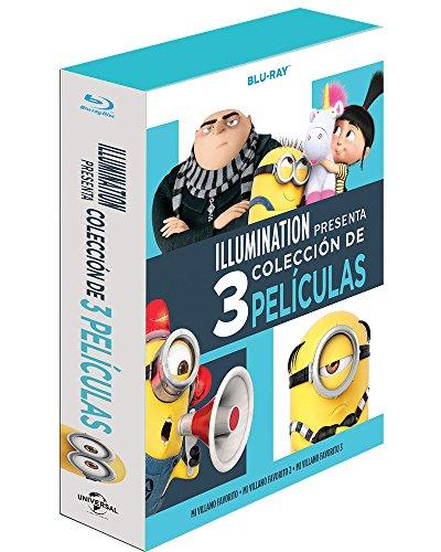 Mi Villano Favorito 1+2+3 (Boxset) [Blu-ray]