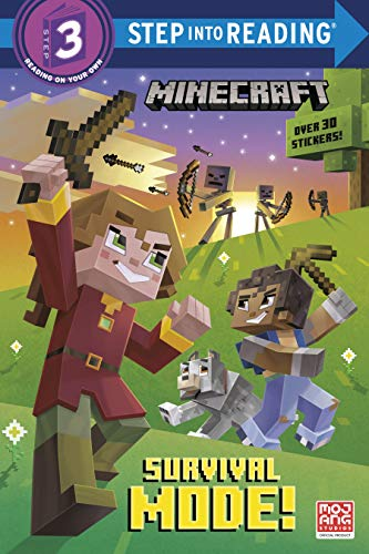 Survival Mode! (Minecraft) (Step into Reading)
