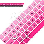 Lapogy MacBook Pro 16 inch Keyboard Cover with MAC OS Shortcut Hot Keys,Pro 13 inch 2020(A2289/A2251),Pro 16 inch 2019… 10 Only Compatible with Apple Macbook Pro 16 inch with Touch ID. Not compatible with other MacBook model. Made of premium grade transparent silicone that allows keyboard backlight to shine through High precision molding, extreme fit closely to original key, giving unparalleled typing response.