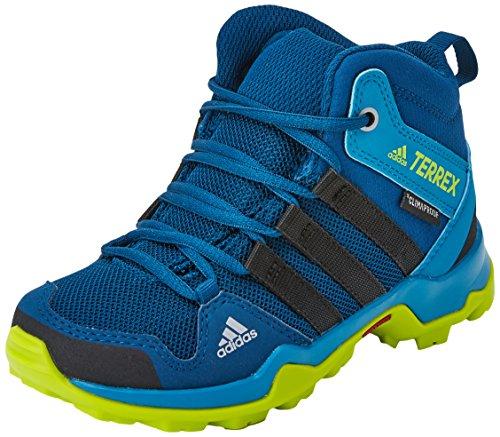 Adidas Jungen Terrex Ax2r Mid Cp K Wanderschuhe , mehrfarbig (Azunoc/Negbas/Seamso) , 33 EU