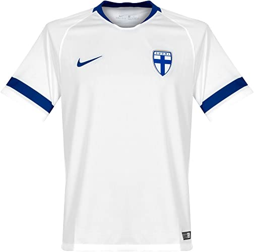 Nike 2018-2019 Finland Home Football Soccer T-Shirt Maillot