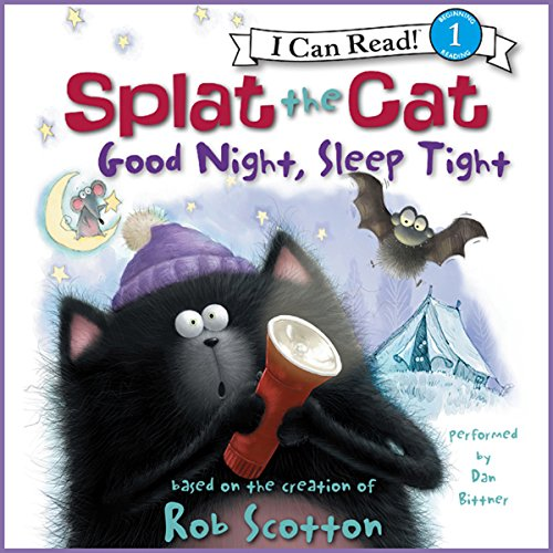 Splat the Cat: Good Night, Sleep Tight cover art