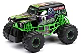New Bright 2430 Monster Jam Grave Digger RC Truck, 1:24 (7-Inch) Scale