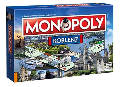 Winning Moves Monopoly Koblenz Stadt City Edition Ausgabe Spiel Gesellschaftsspiel Brettspiel