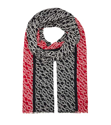 Tommy Hilfiger Damen All Over Logo Scarf , Multi, OS
