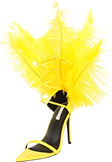 Best feather high heels Reviews
