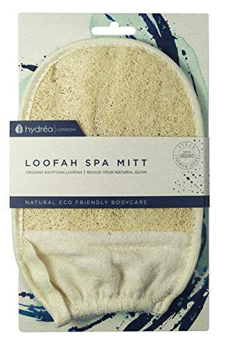 guanti esfolianti Hydrea London - Organic Egyptian Loofah