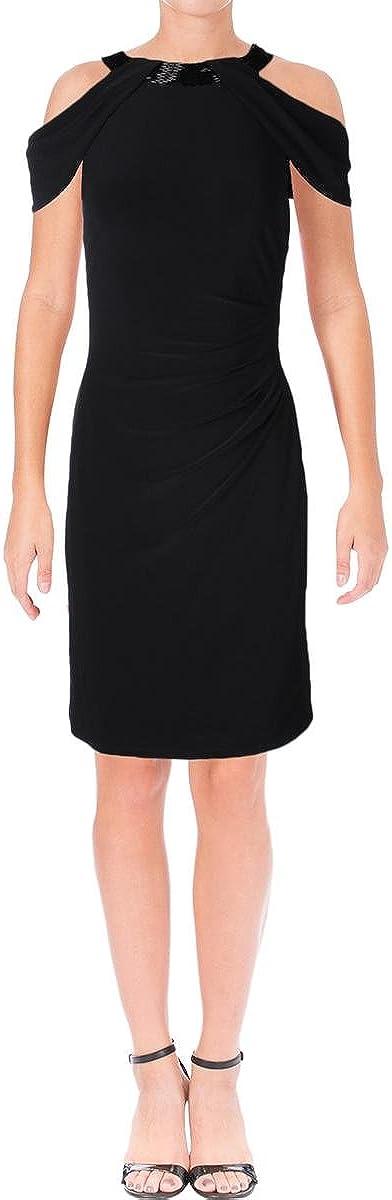 Lauren by Ralph Lauren Women's Jersey Off-Shoulder Dress