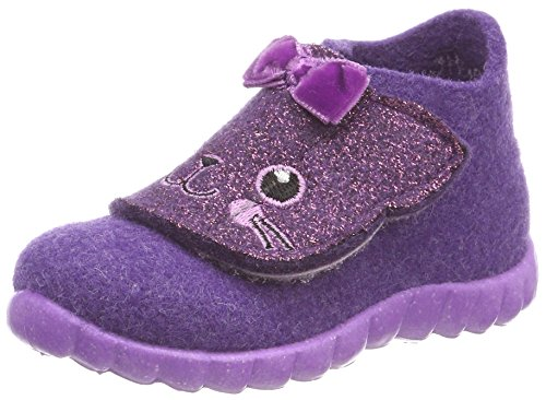 superfit Happy, Chaussons Montants Garçon, Violet, 30 EU
