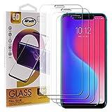 Guran 4 Paquete Cristal Templado Protector de Pantalla para Lenovo S5 Pro Smartphone 9H Dureza Anti-Ara?azos Alta Definicion Transparente Película