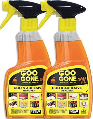 Goo Gone Original Spray Gel - Sticker Remover - 12 Fl. Oz.