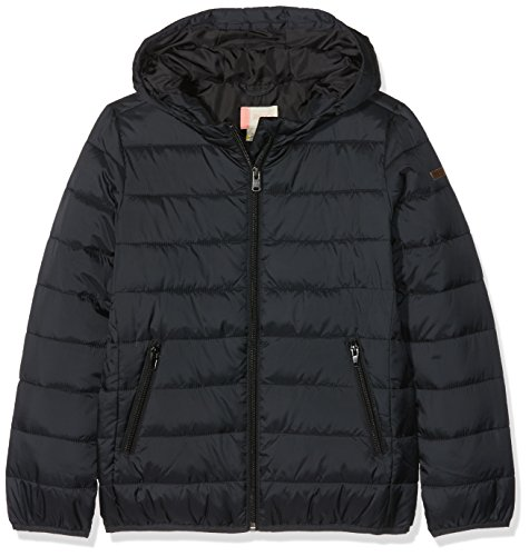 Roxy Question Reason Veste d'Isolation Thermique pour Fille, Anthracite/Solid, FR : M (Taille Fabricant : 10/M)