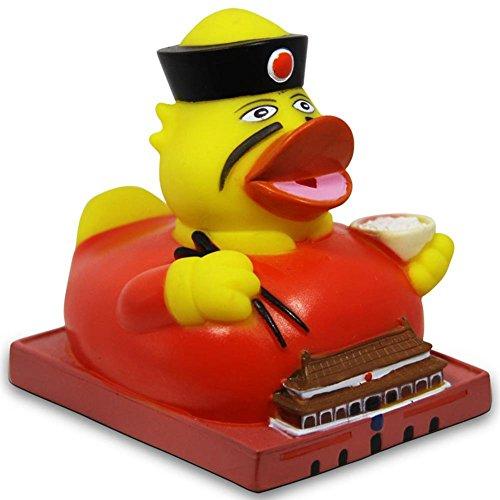 HC di Handel 916658vinile Badeente City Duck Pechino Anatra di gomma 8cm