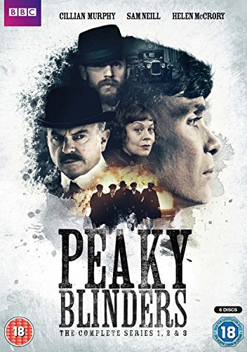 Peaky Blinders - Series 1-3 Boxset [DVD] [2016] UK-Import (Region 2), Sprache-Englisch.