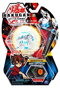Bakugan Ultra Haos Lupitheon 3-inch Tall Collectible Transforming Creature for Ages 6 and Up